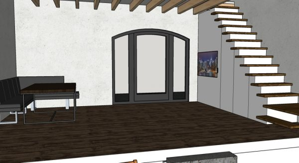 Ausbaureserve Gäste-Hauses
