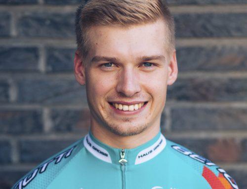 Aaron Grosser auch 2020 für Team Bike Aid